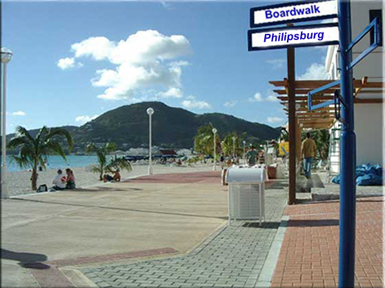Boardwalk Great Bay Philipsburg